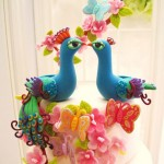 Blues Birds Wedding Cake Topper