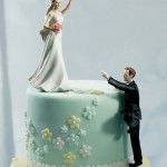 Climbing the cake Wedding Cake Topper