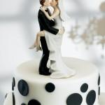 Erotic pose wedding cake Topper