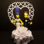 The Simsons Wedding Cake Topper