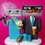 Weird and Funny Wedding Cake Topper