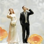 cell phone wedding cake Topper