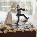 no running away cake wedding cake Topper