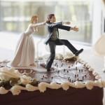 no running away cake wedding cake Topper