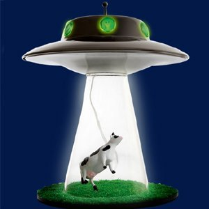 cow-abduction-ufo-lamp | Creative Ads and more…