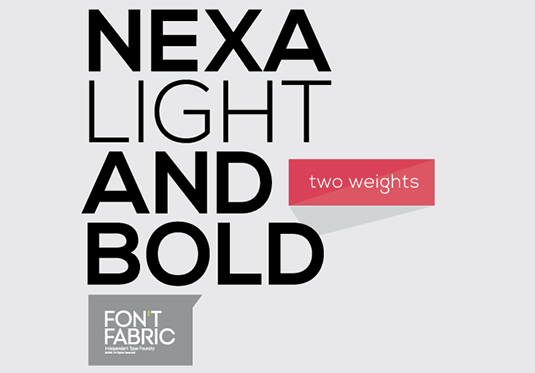 nexa light and bold