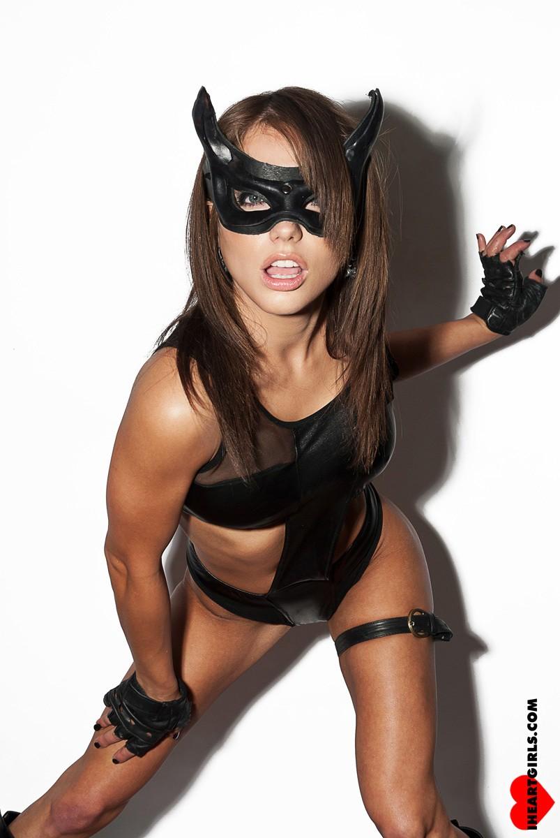Black Cat Cosplay Liz Katz Nude