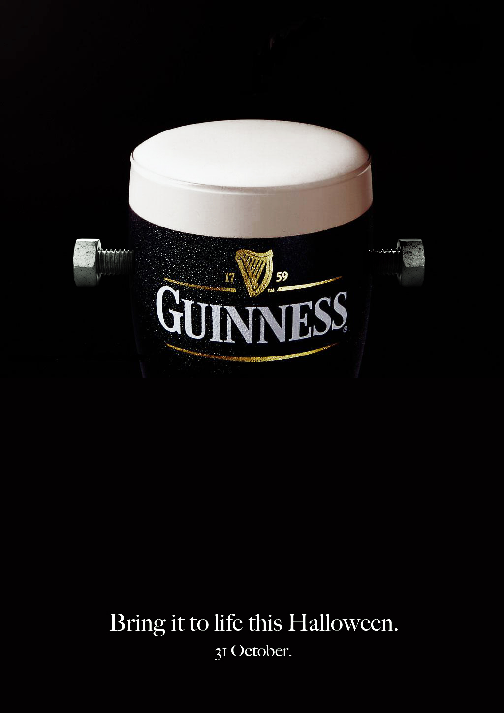 Guinness Beer Halloween Ad 3 Creative Ads And More