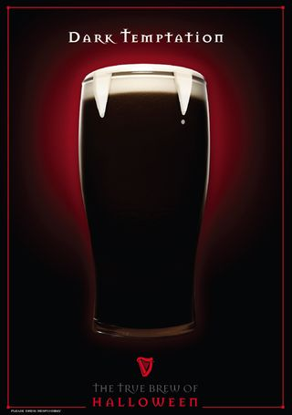 Guinness Beer Halloween Ad 4 Creative Ads And More