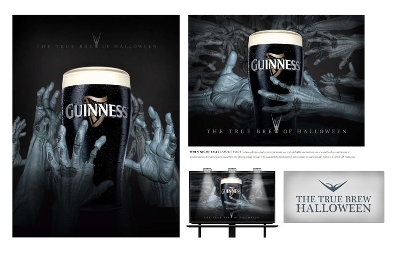 Guinness Beer Halloween Ad 6 Creative Ads And More