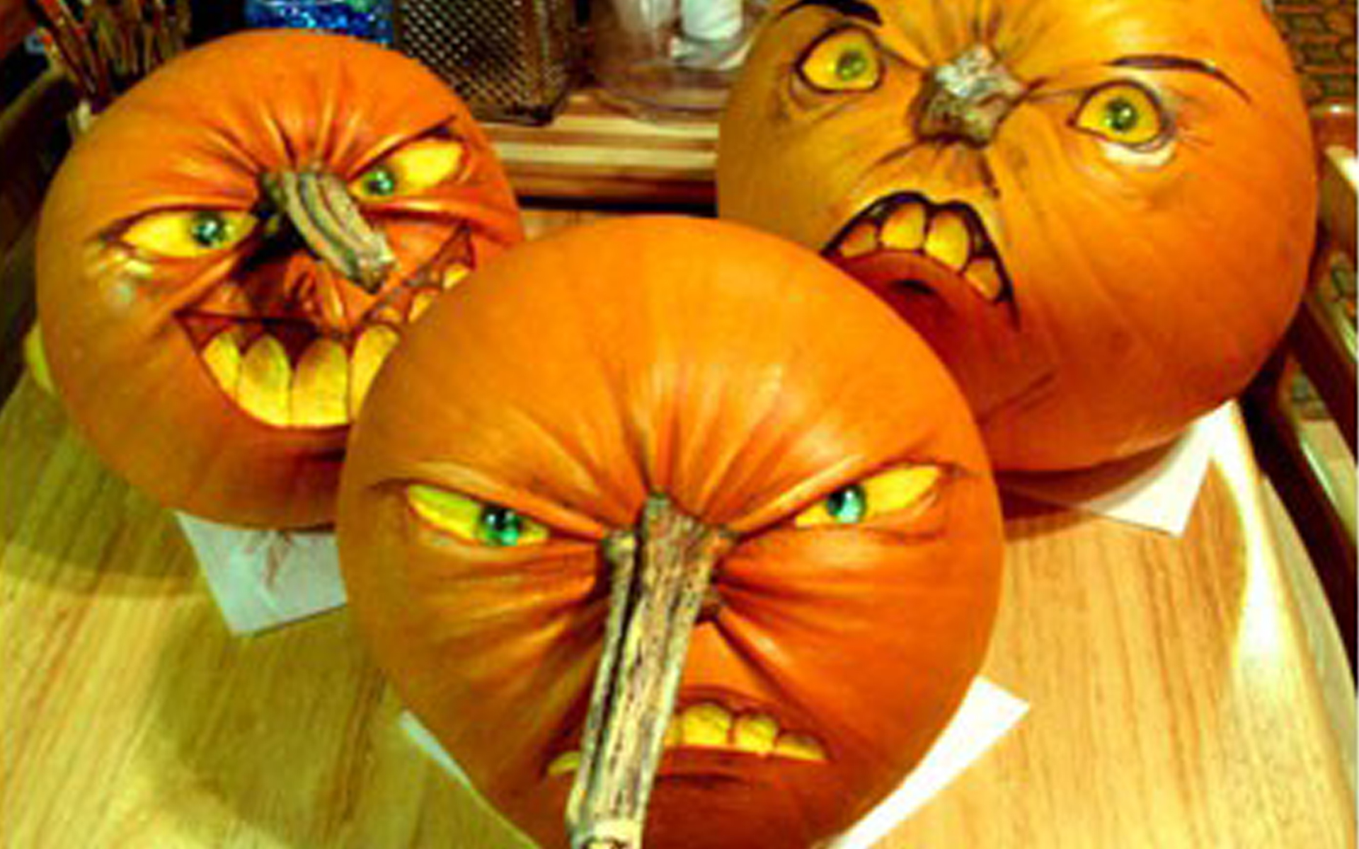 Pinocchio halloween pumpkin carvings creative ads and more Funny pumpkin painting ideas
