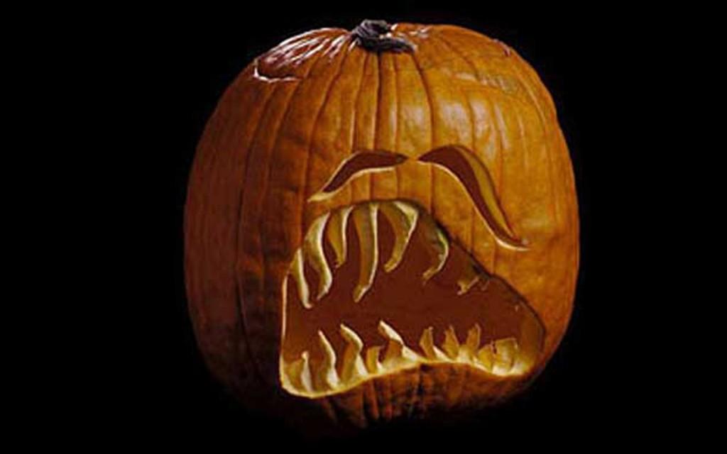 Sad Face Halloween Pumpkin Carving Creative Ads