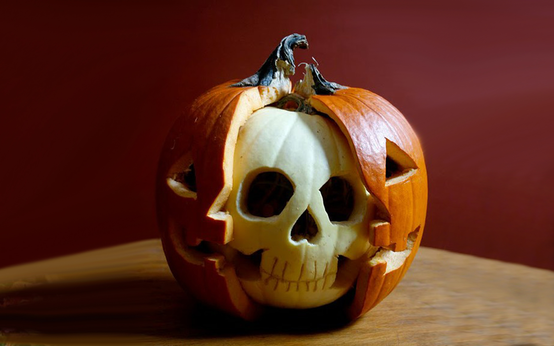 skull halloween pumpkin | creative ads and more…