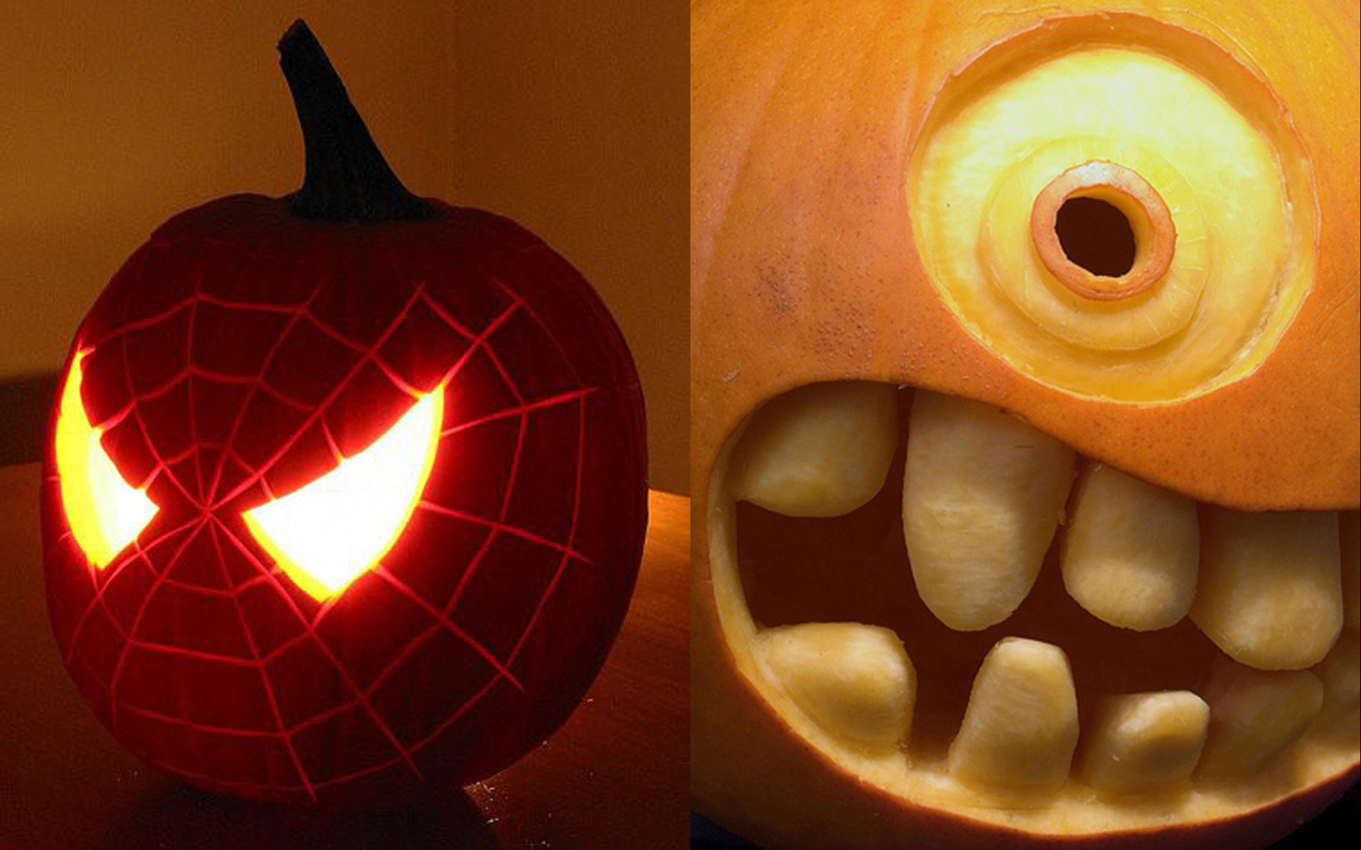 Spiderman Halloween Pumpkin Carving | Creative Ads