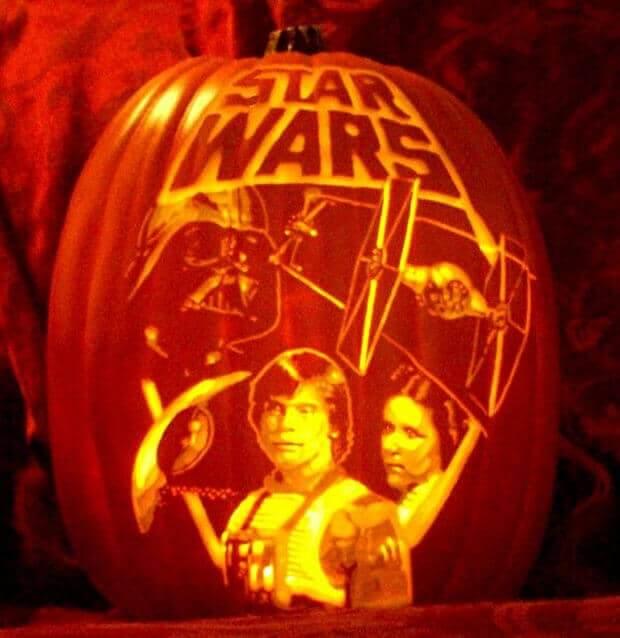 Star Wars Pumpkin Carving