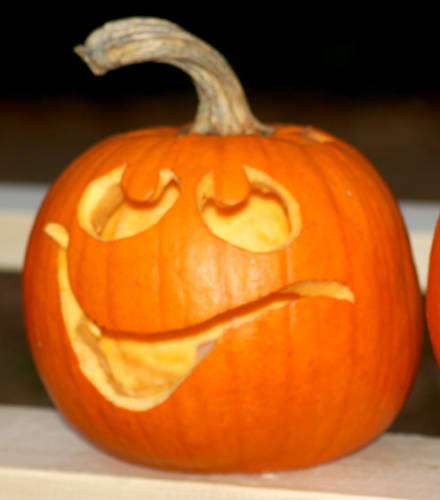 Happy face pumpkin creative ads …