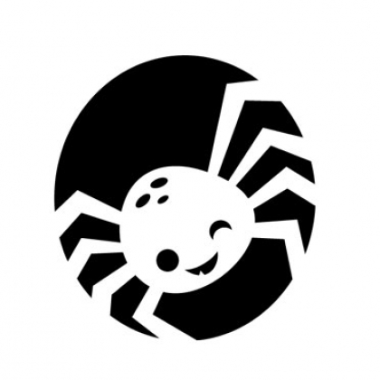 Awesome spider web pumpkin stencil kid halloween carving pattern.