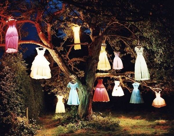 garden creative ideas dresses lighting creative ads and