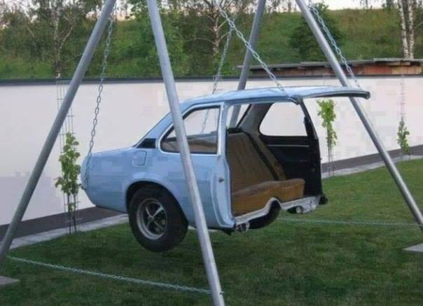 car back seater swing
