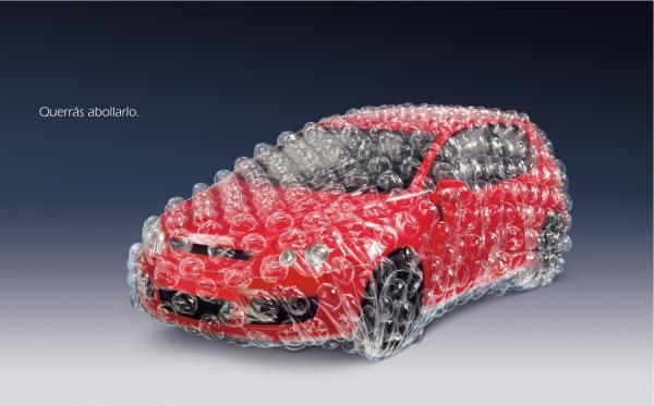 Car Insurance Ad Bubble Wrap Creative Ads And More
