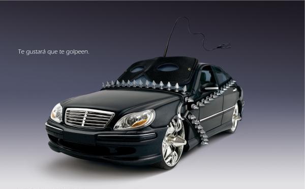 car insurance ad sado creative ads and more. Black Bedroom Furniture Sets. Home Design Ideas