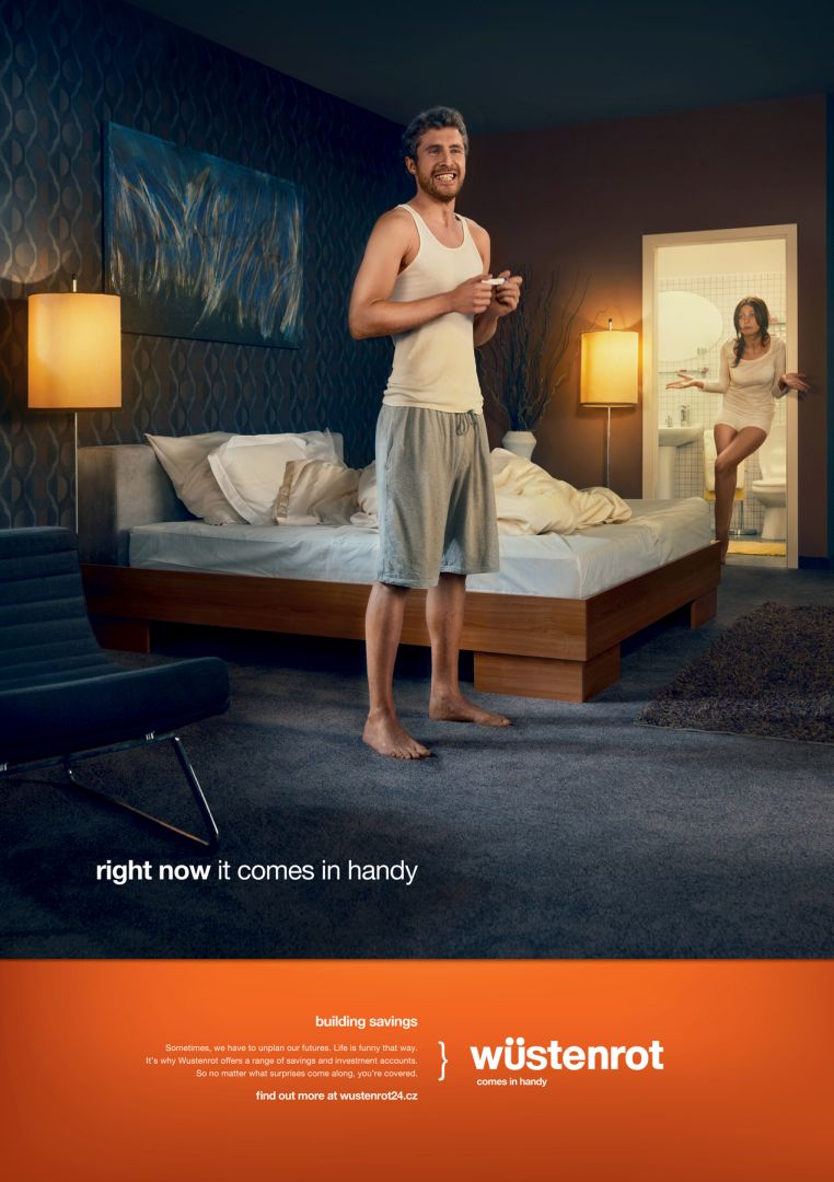 Wustenrot home insurance ad 2 creative ads and more for Ad house