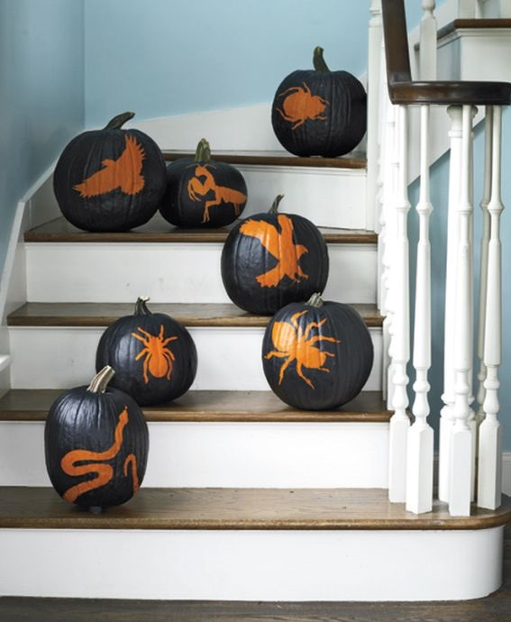 Black Painted Pumpkin Ideas Creative Ads And More