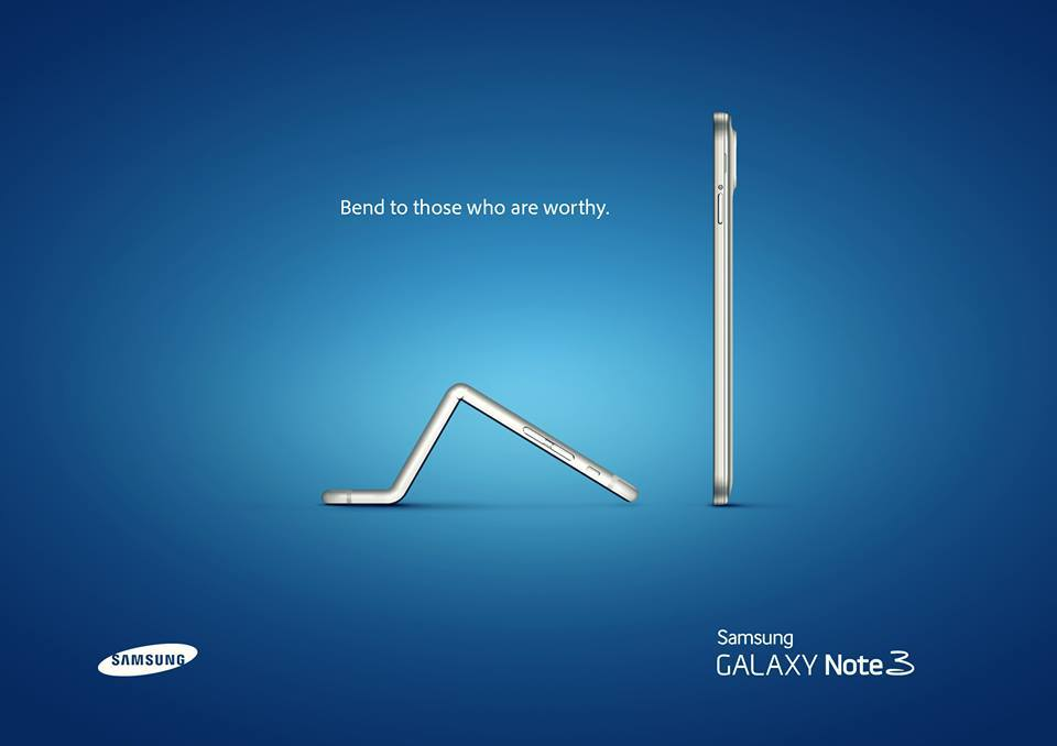 Samsung vs Apple ad