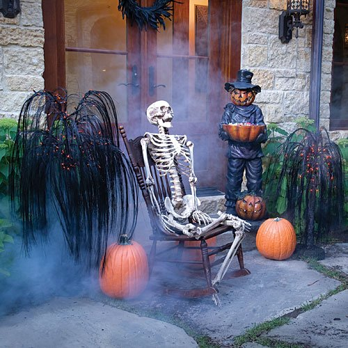 Scary halloween party decorating ideas for home creative for Scary halloween home decorations