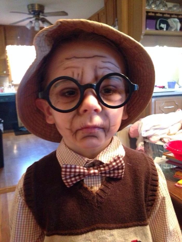 Children Halloween Costumes Old Man Creative Ads And More