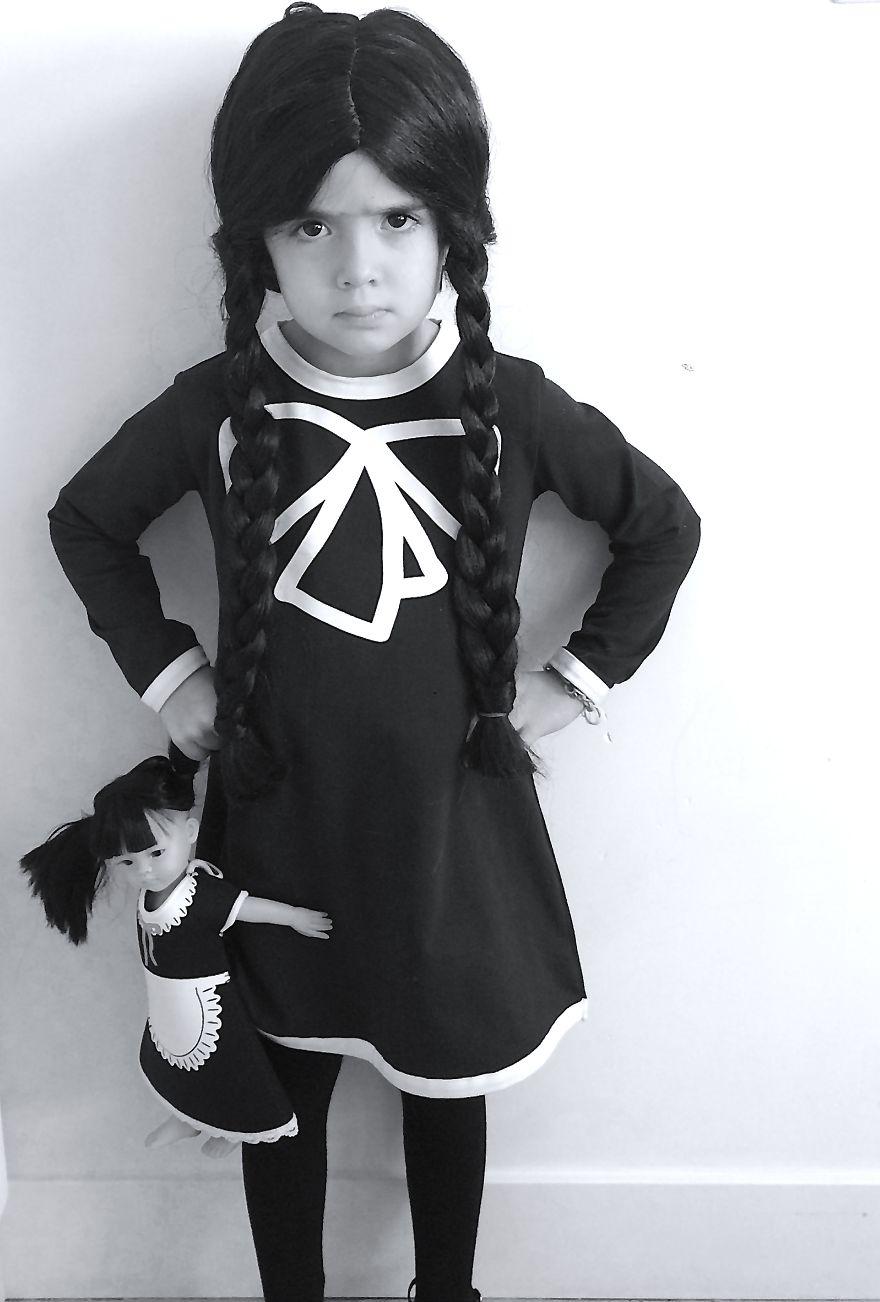 children halloween costumes wednesday addams
