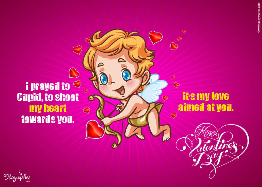 free funnyvalentines day ecard cupid – Valentines Day Online Card