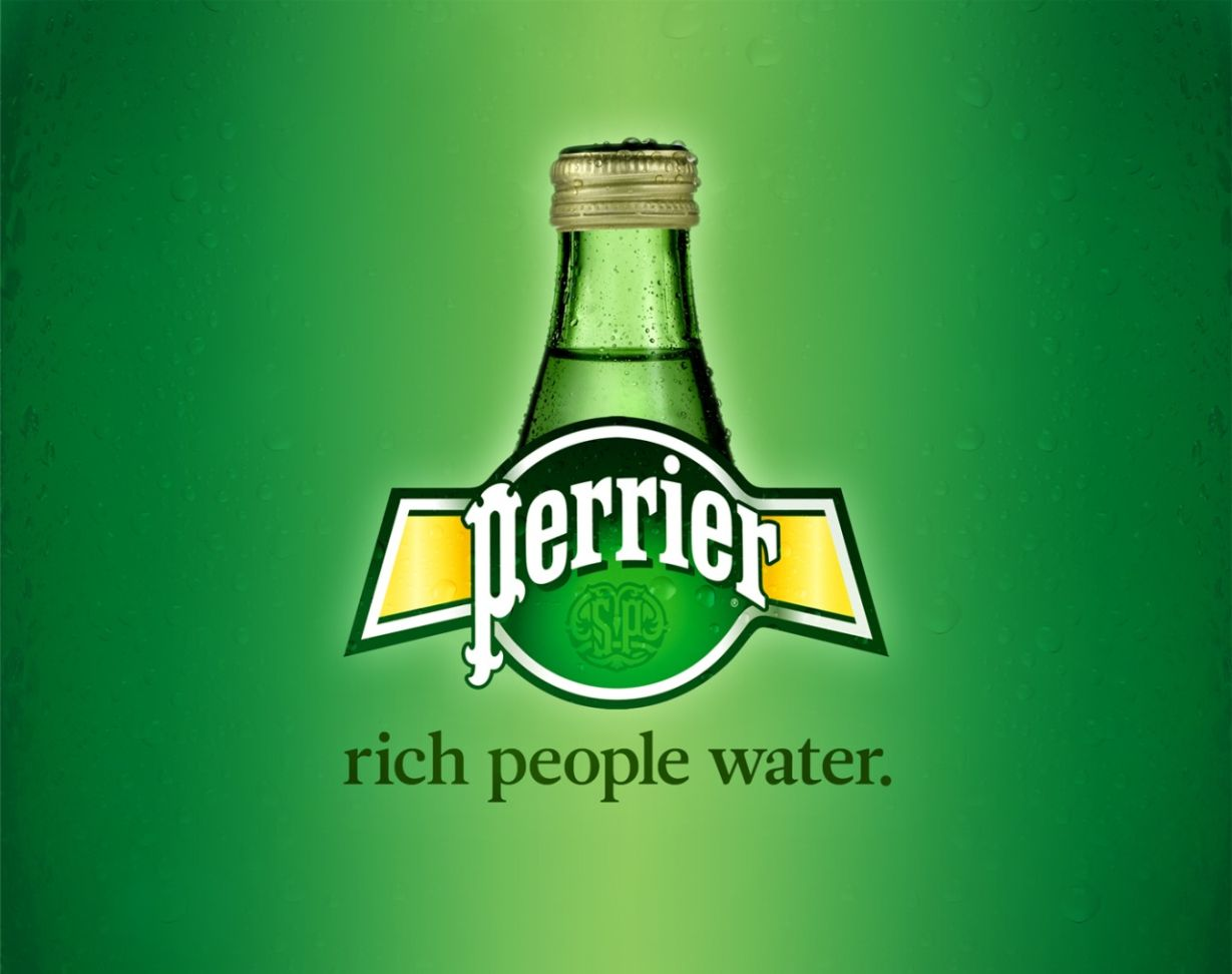 perrier honest-advertising-slogan | Creative Ads and more…