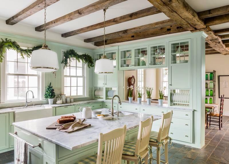 creative shabby chic open kitchen idea creative ads and