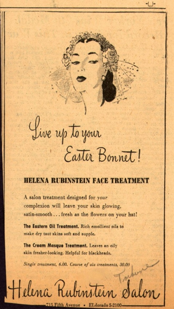 vintage-easter-bonnet ad | Creative Ads and more…