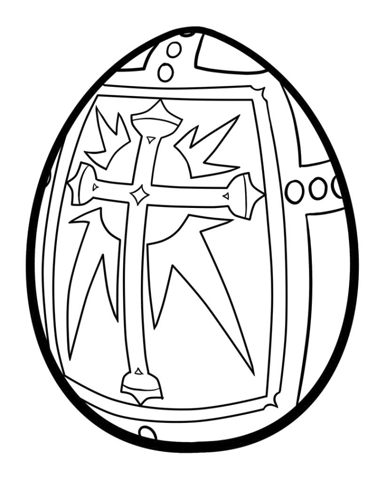 religious easter egg coloring page creative ads and more