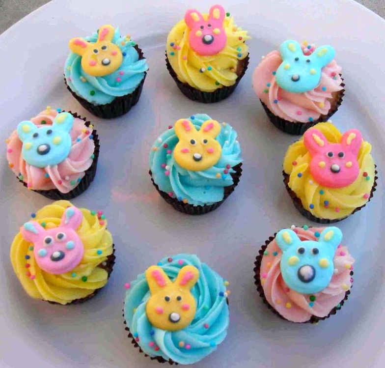 decorated easter cupcakes idea Creative Ads and more?