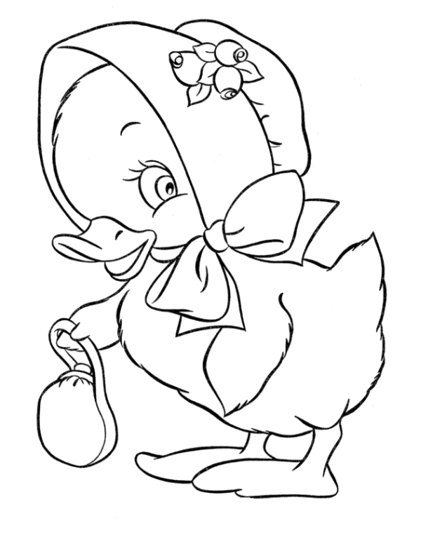 easter chick coloring pages - easter chick coloring page creative ads and more