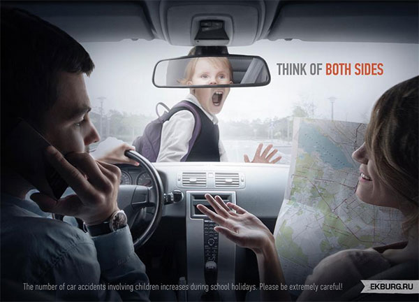 safe driving awareness ad 2 creative ads and more