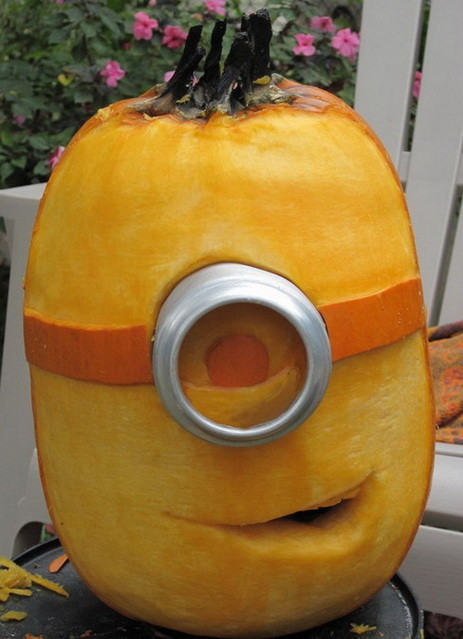 Minion pumpkin carving idea creative ads …