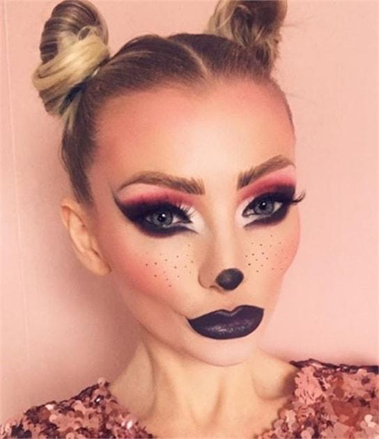 Deer Haloween Makeup