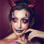 Devil Halloween Makeup Idea