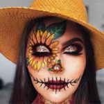 Scarecrow Halloween Makeup Idea