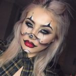 Sexy Clown Makeup For Halloween