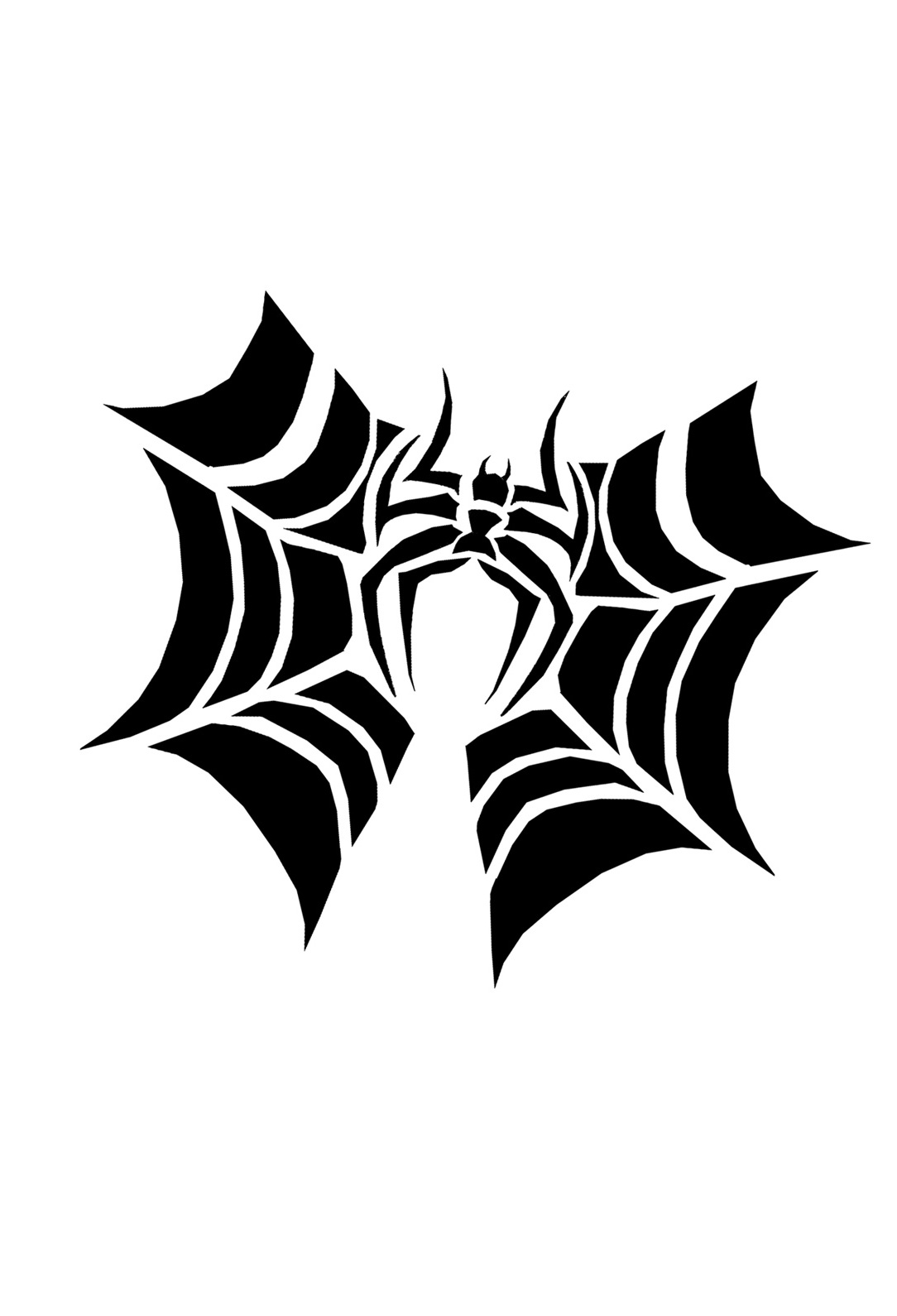 Spider bat pumpkin-carving-pattern-printable | Creative Ads and more…