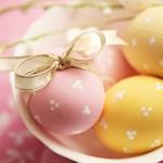 2016 Easter Eggs HD Wallpaper