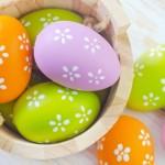2016 Easter Eggs Wide HD Wallpaper
