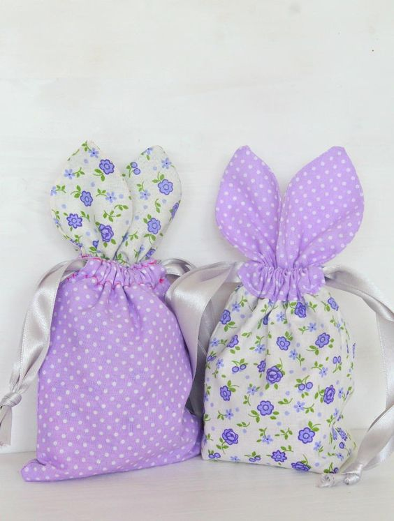 Bunny Treat Bags For Easter