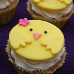 Chirpy Chick Easter Cupcakes