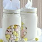 DIY Bunny Candy Jars
